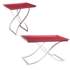 Traditional Accents Hostess Table - Red 6041043