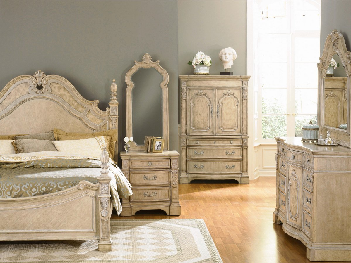 pulaski terracina poster bedroom collection pf b611150 at. Black Bedroom Furniture Sets. Home Design Ideas