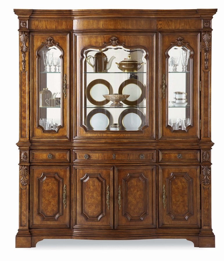 Pulaski Terracina Sienna China Cabinet
