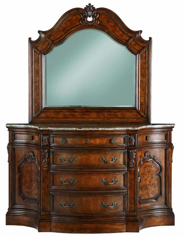Pulaski Terracina Sienna Mirror