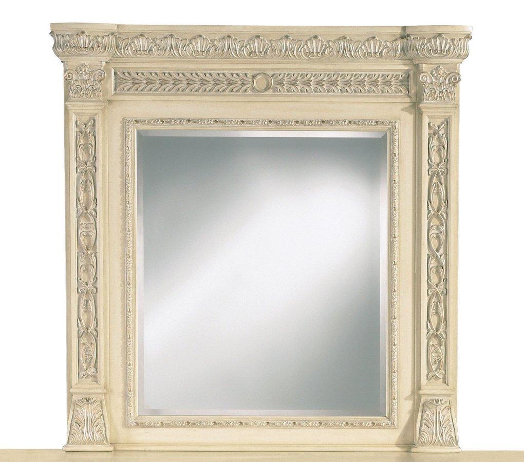 Pulaski Royale Silver Bisque Mirror