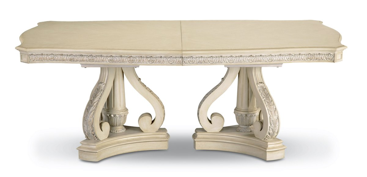 Pulaski Royale Silver Bisque Table