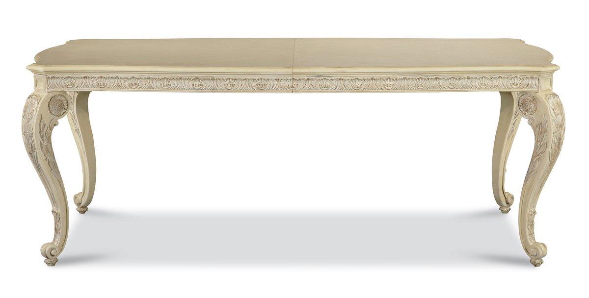 Pulaski Royale Silver Bisque Leg Table