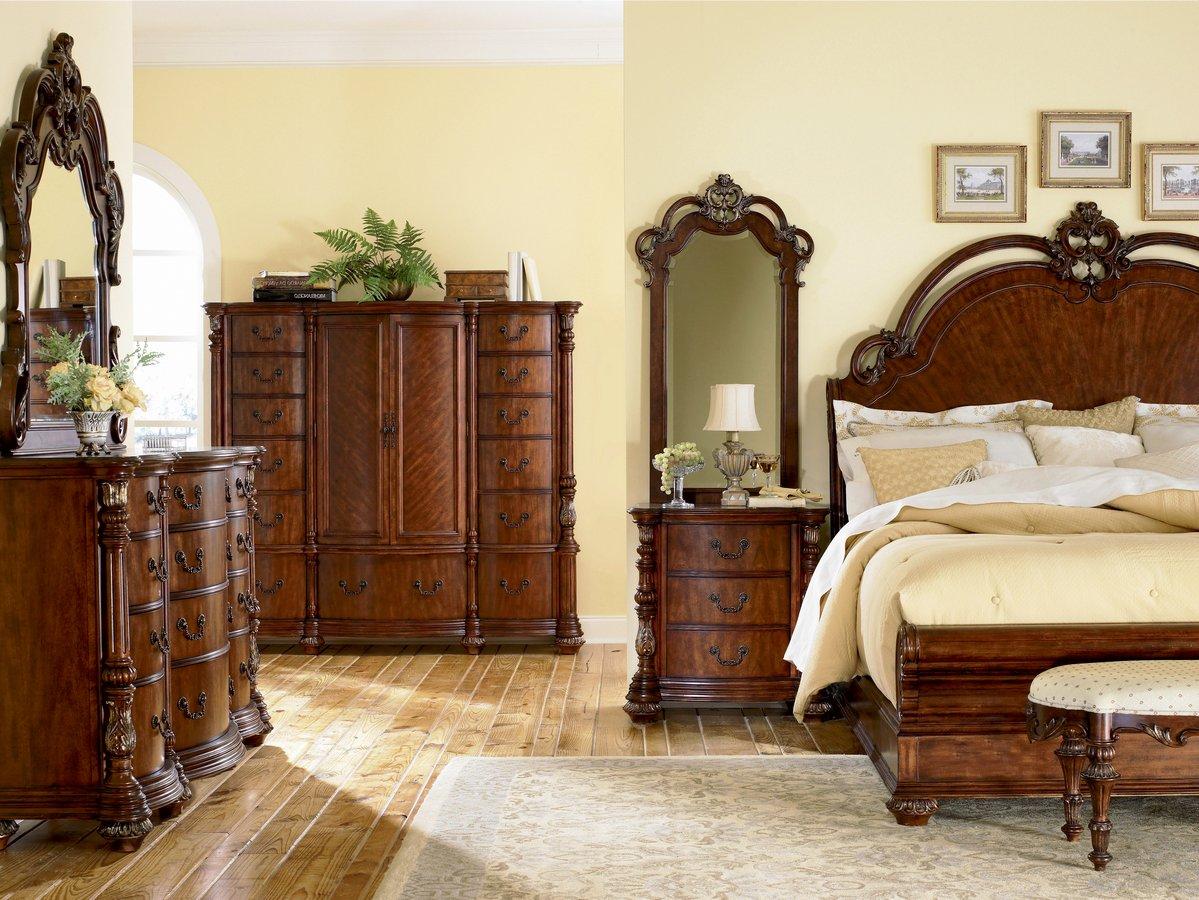 Pulaski Dorchester Sleigh Bedroom Collection