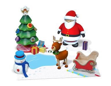 KidKraft Celebrate Christmas Activity Set