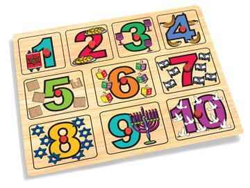 Celebrate 3 Piece Judaica Educational Puzzles-KidKraft