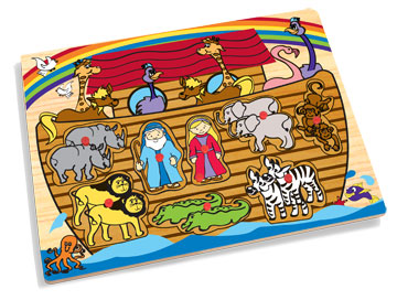 KidKraft Celebrate 3 Piece Judaica Educational Puzzles