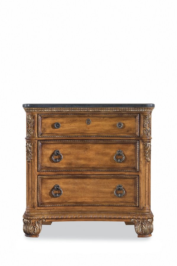 Pulaski Thaxton Court Stone Top Nightstand