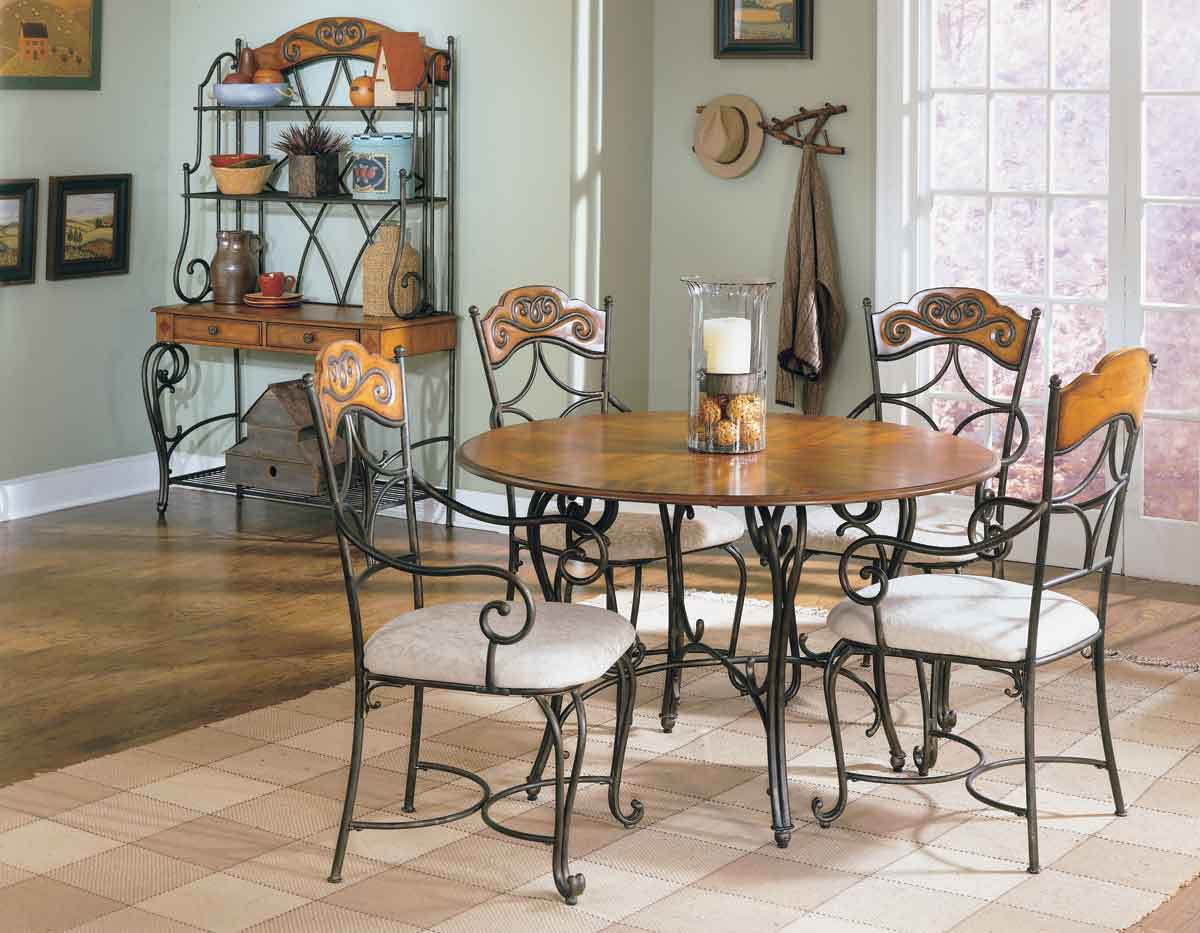 Homelegance Curve Dining Collection