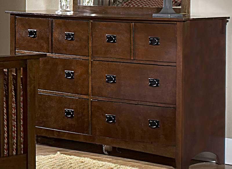 Homelegance Canton Maloney Dresser - Oak