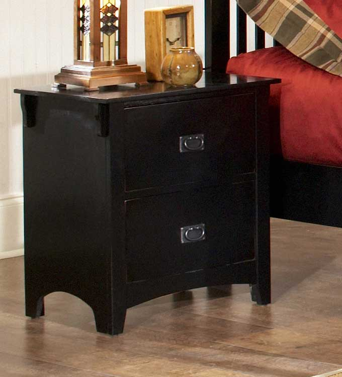 Homelegance Canton Maloney Night Stand - Black
