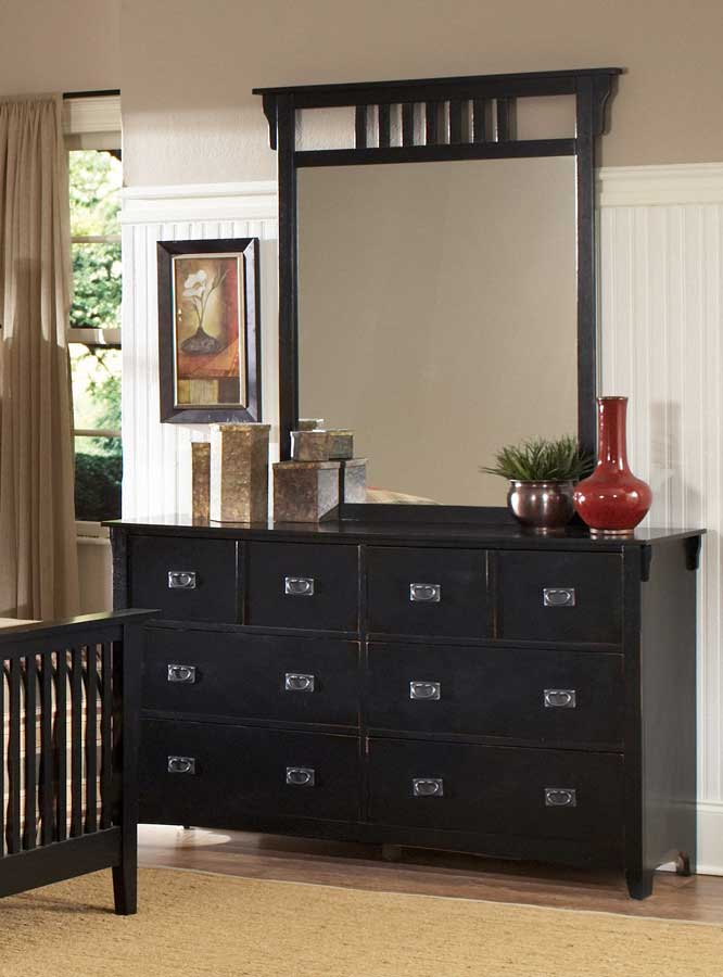 Homelegance Canton Maloney Bedroom Collection - Black