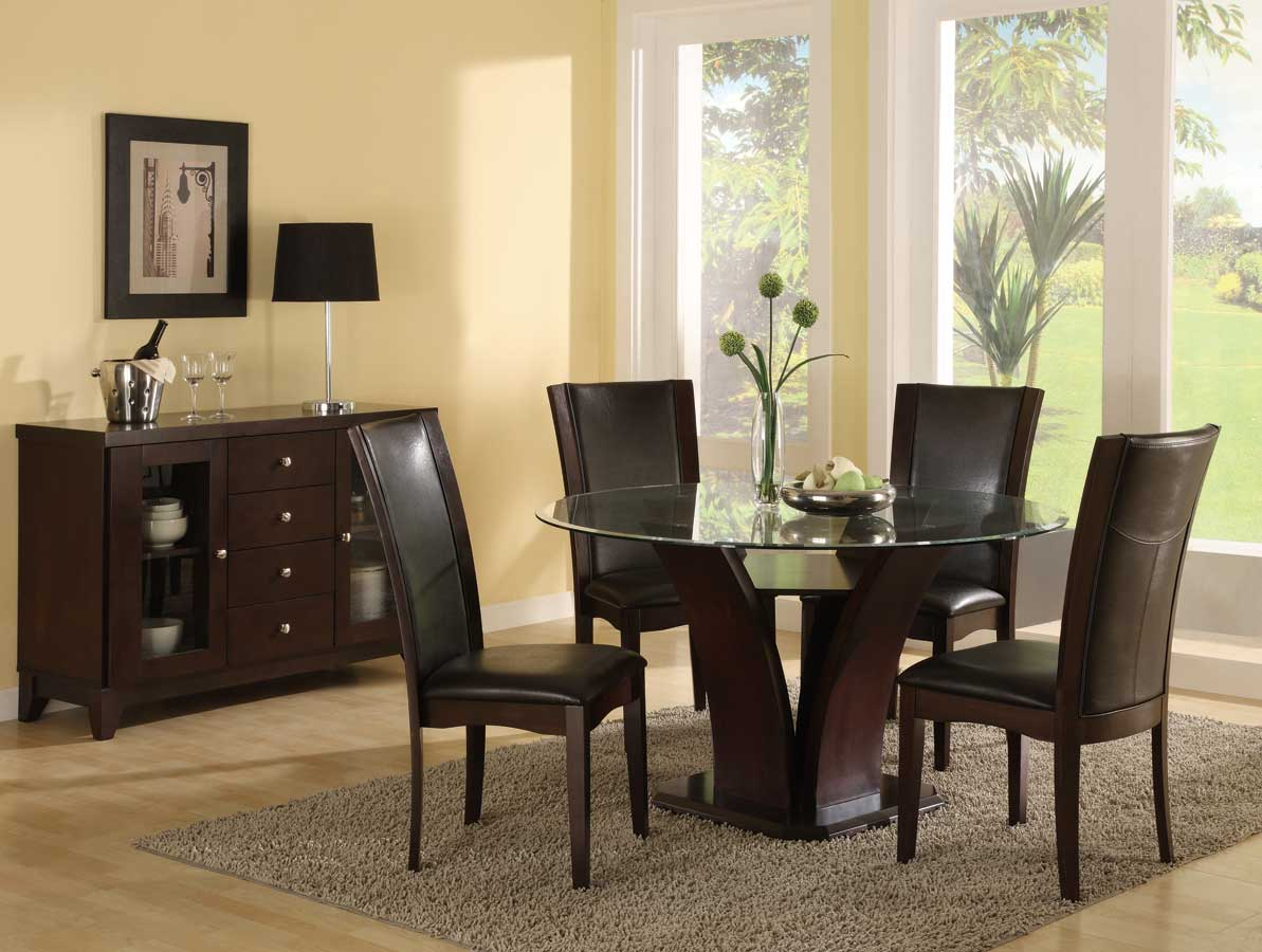Homelegance Daisy Round 54 Inch Dining Collection