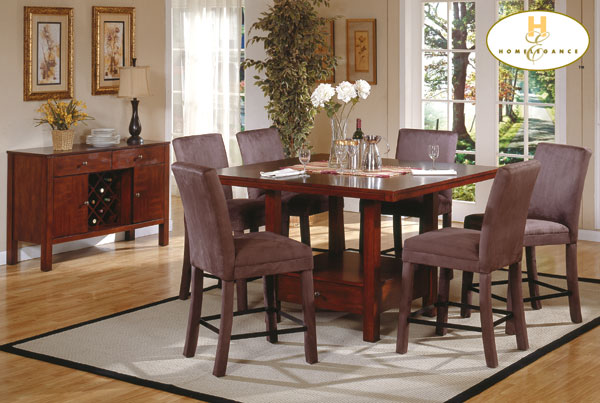 Homelegance Daffodil Pub Dining Collection 713