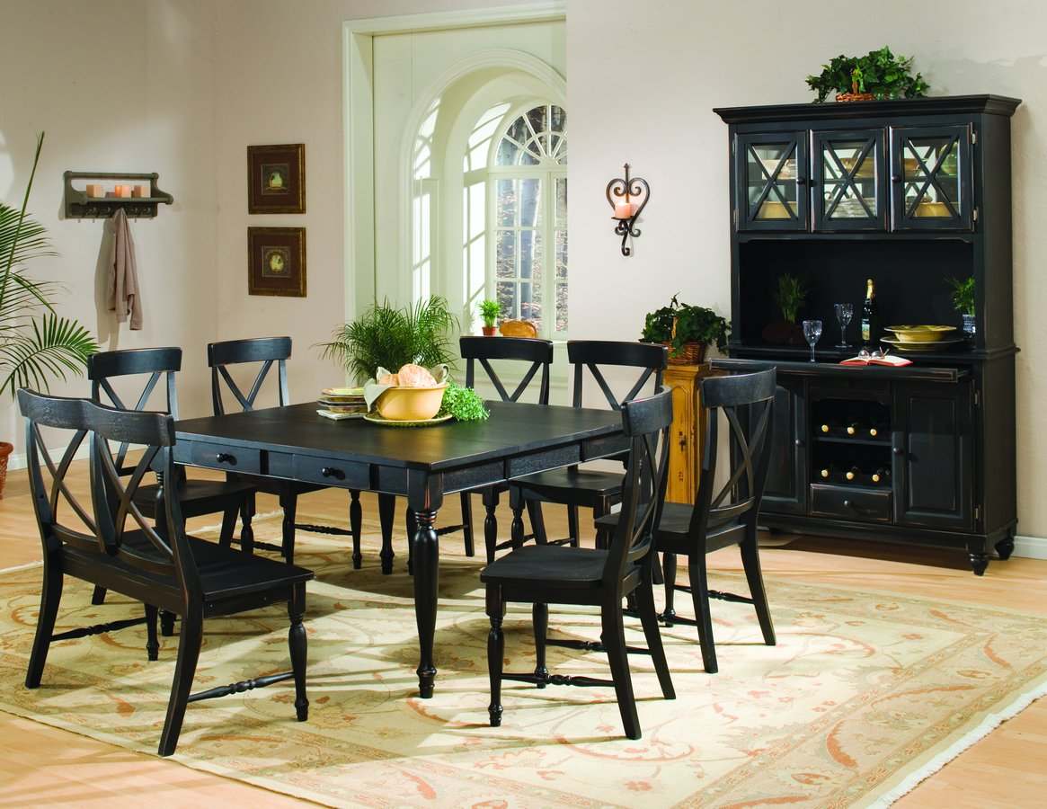 Homelegance Expedition Dining Table with 18in Leaf