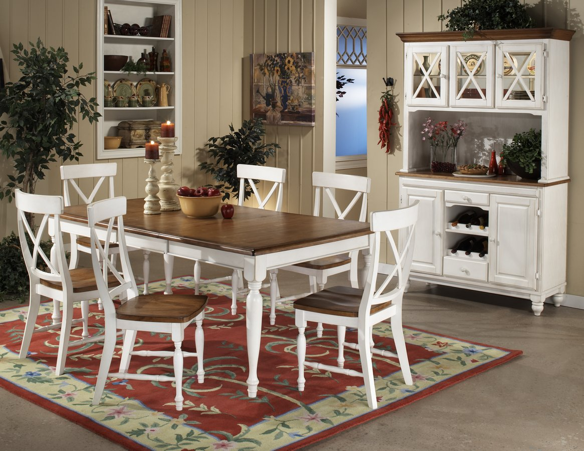 Homelegance Expedition Dining Collection White