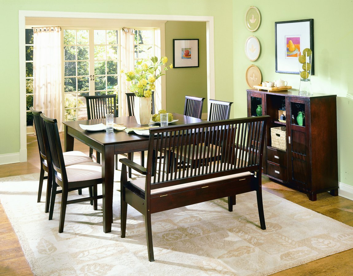 Homelegance Highlander Dining Table With Butterfly Leaf
