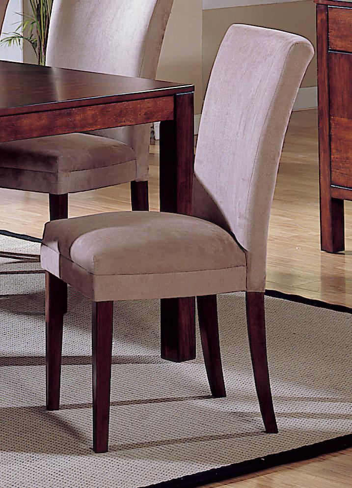 Homelegance Achillea Parson Chair-Peat Microfiber