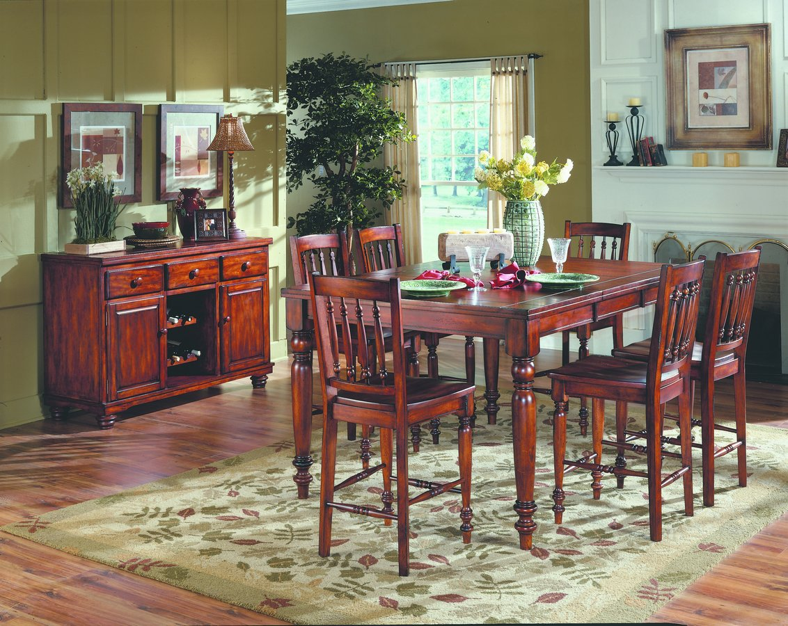 Homelegance Oxford Pub Dining Collection 36H Cherry