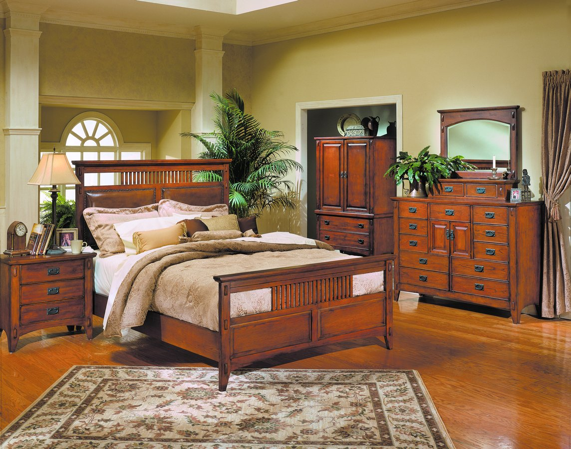 Homelegance Arts and Craft Bedroom Collection