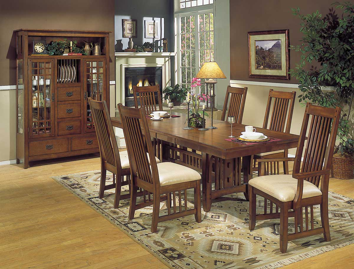 Homelegance Arts and Craft Dining Collection