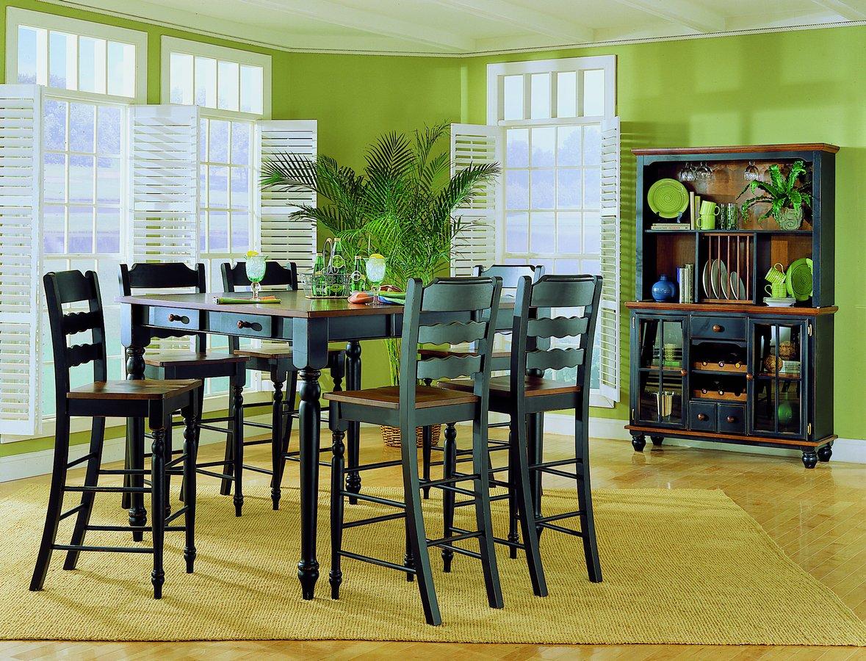 Homelegance Sedgefield Pub Dining Collection Black