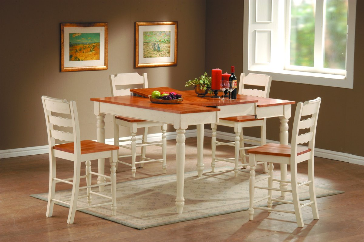 Homelegance Sedgefield Pub Dining Collection White