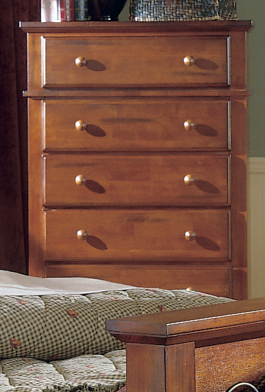 Homelegance Lareto 5 Drawer Chest on Chest
