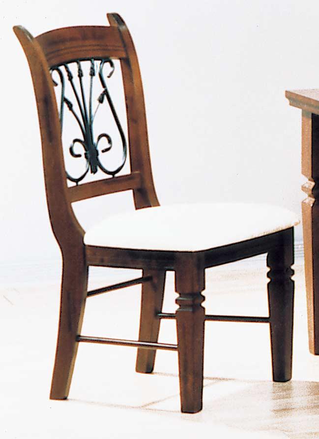 Homelegance Old World Harp Back Chair