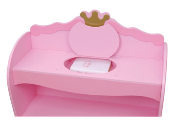 KidKraft Princess Bookcase
