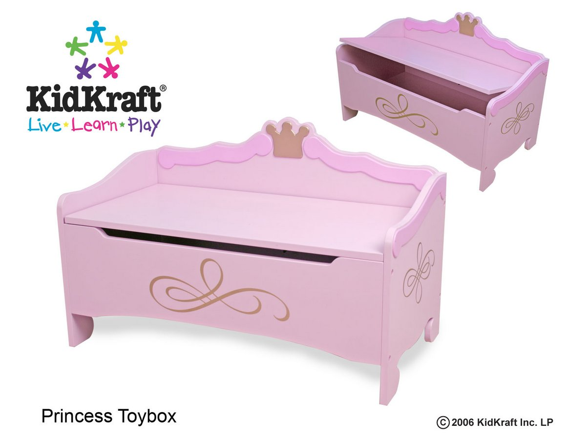 KidKraft Princess Toy Box