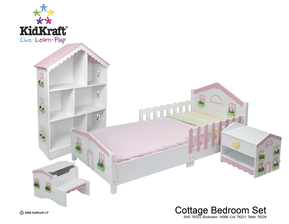 KidKraft Cottage Step N Store