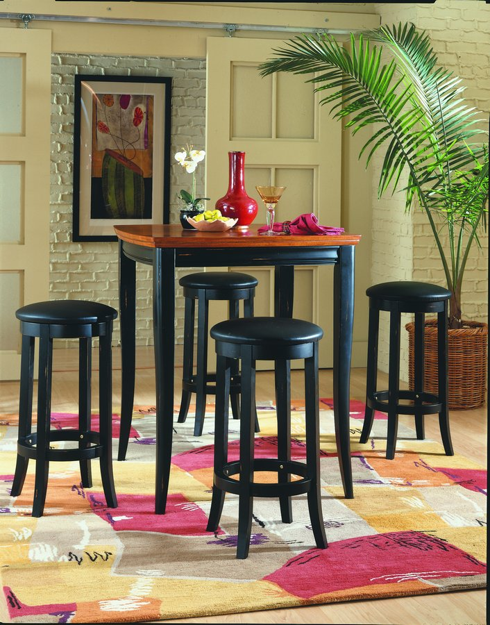 Homelegance Liz Pub Dining Collection in Cherry