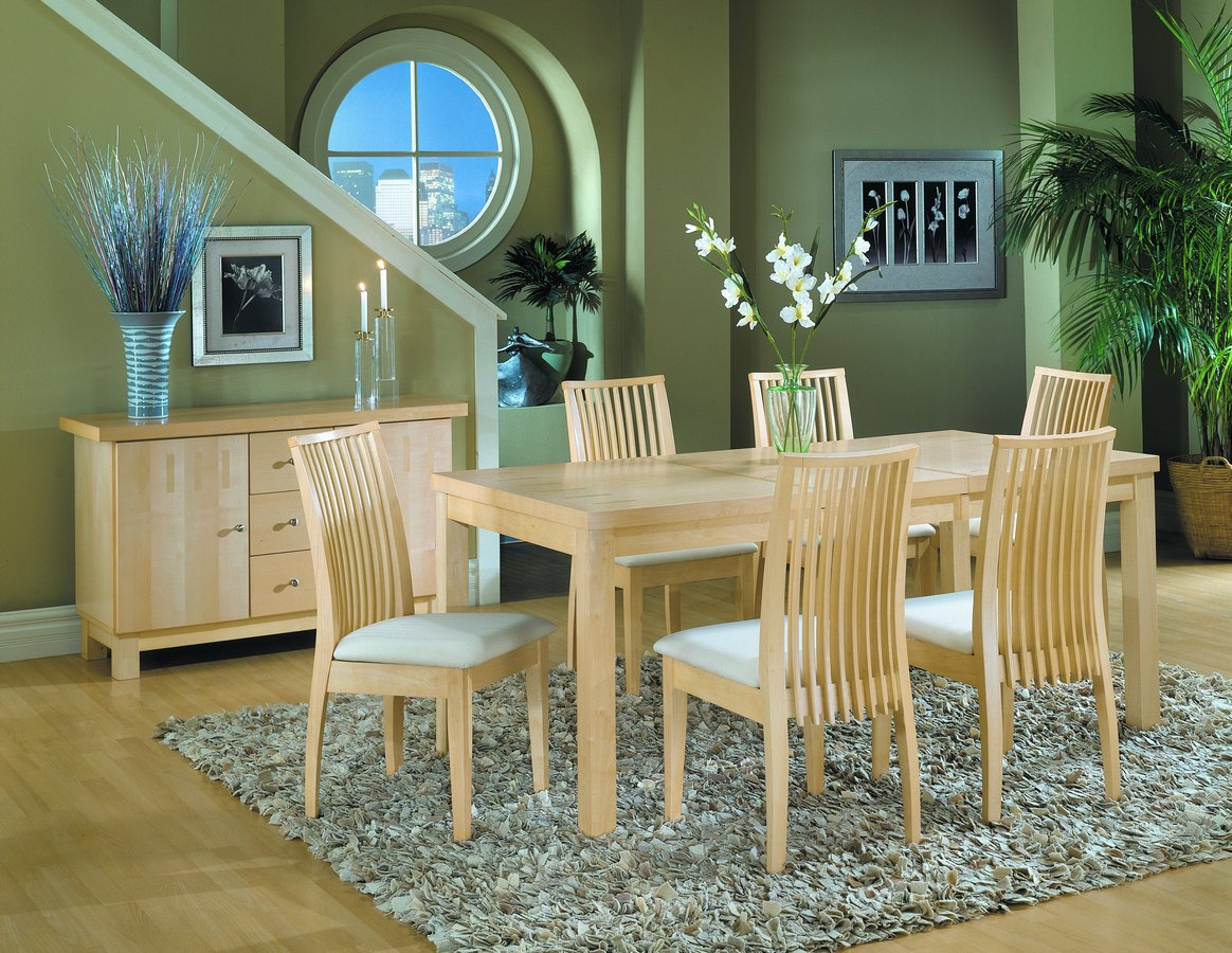 Homelegance Metro Dining Table with Leaf