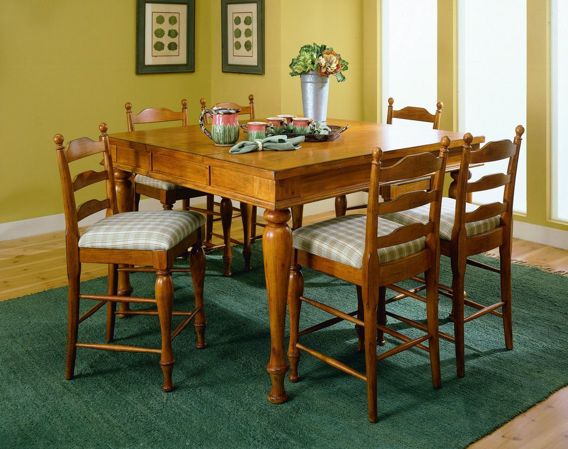 Homelegance Casual Moments Pub Dining Collection Pine