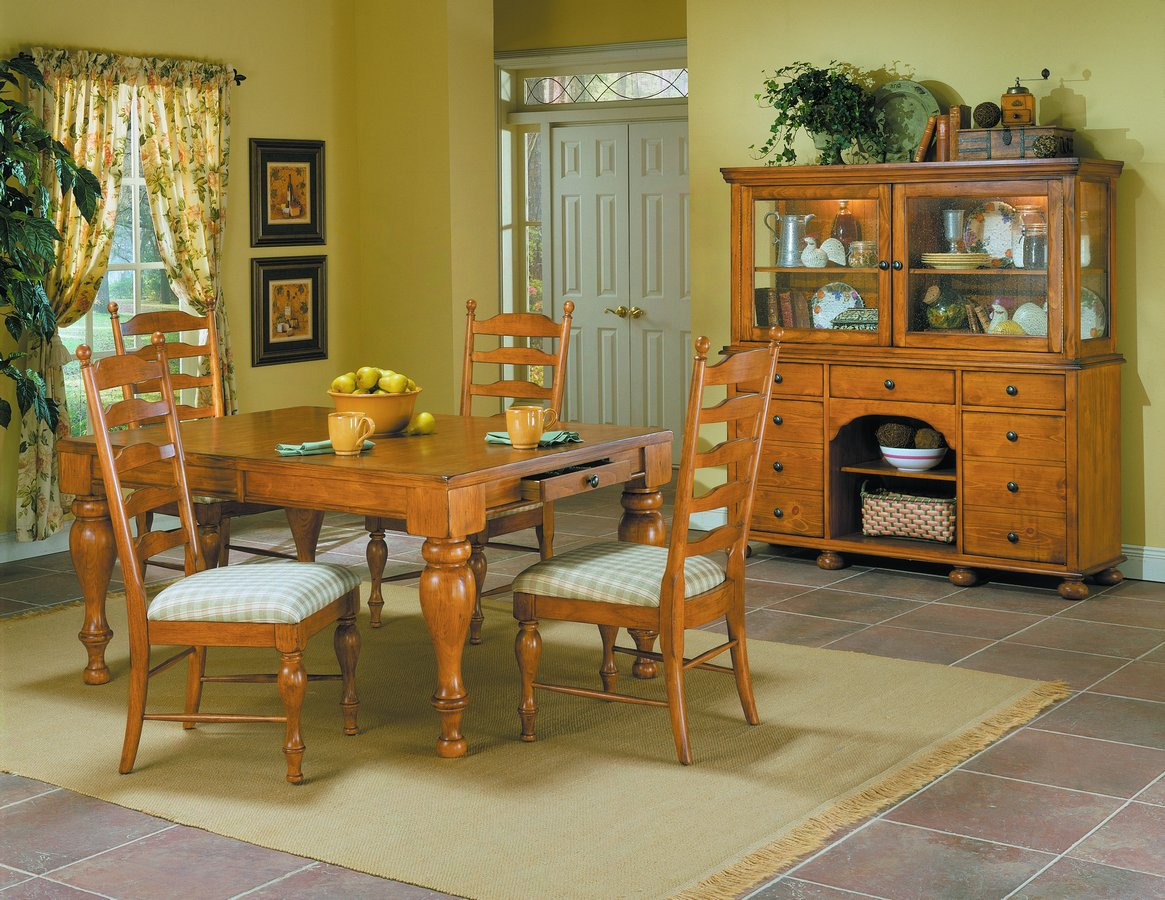 Casual Moments Dining Collection Antique Pine-Homelegance
