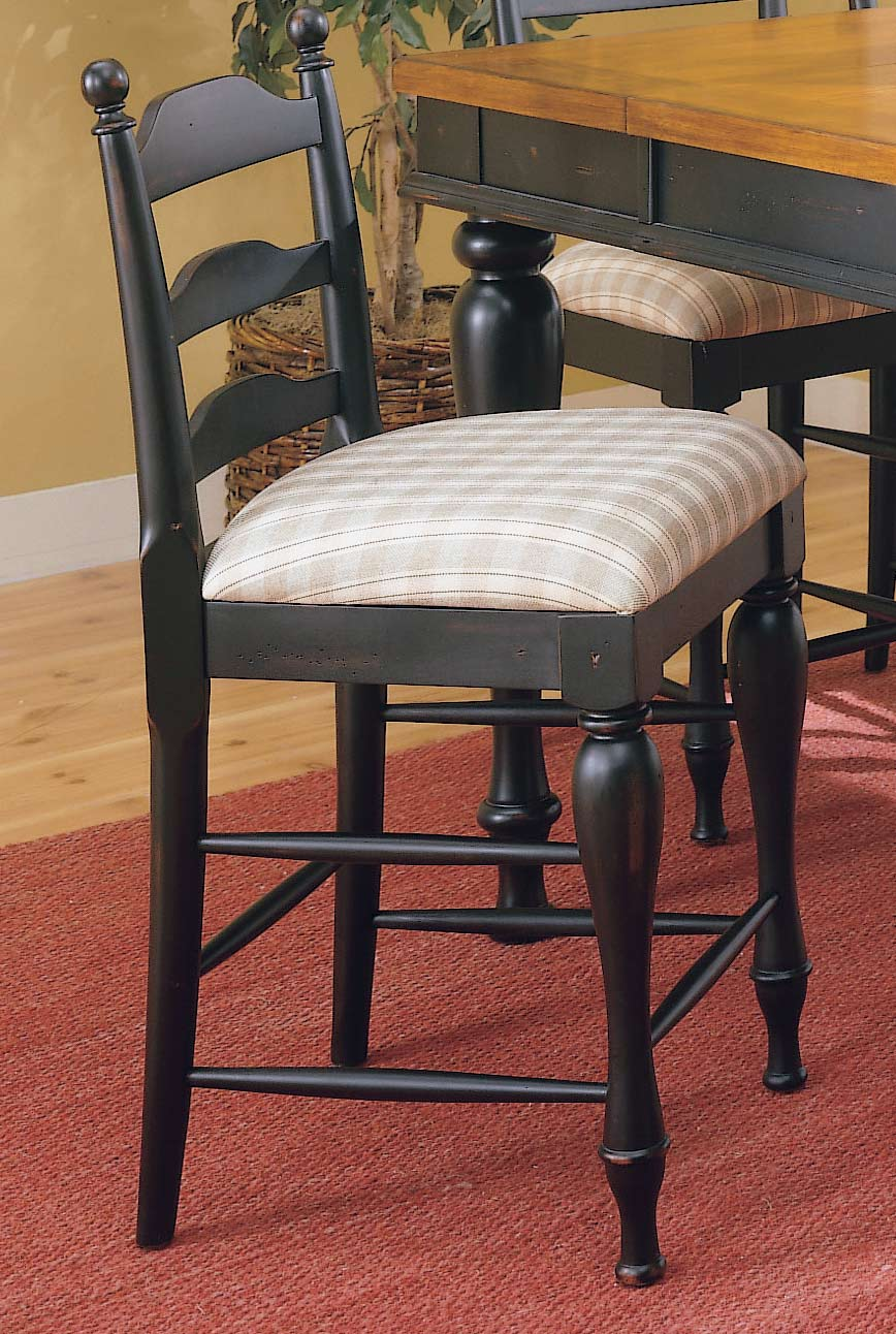 Homelegance Casual Moments Counter Chair Antique Black