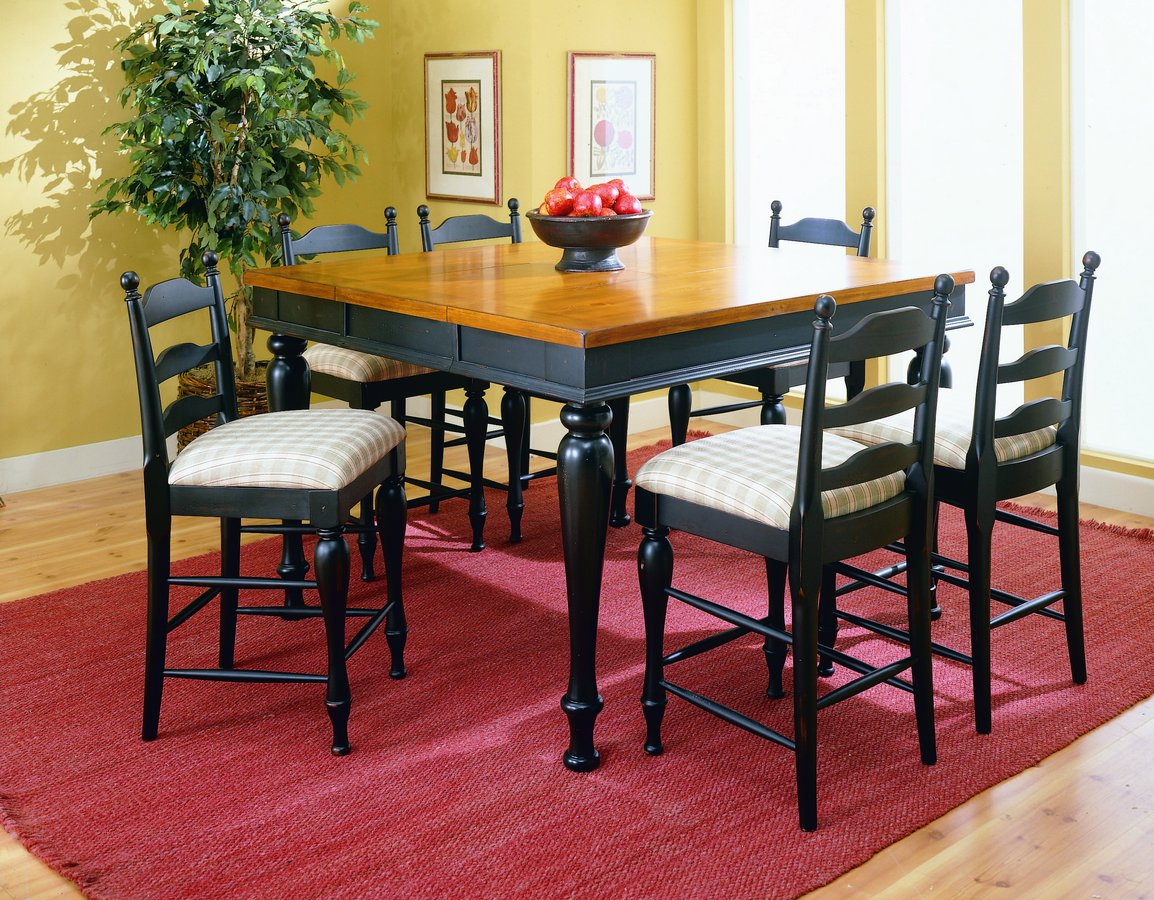 Homelegance Casual Moments Pub Dining Collection Black