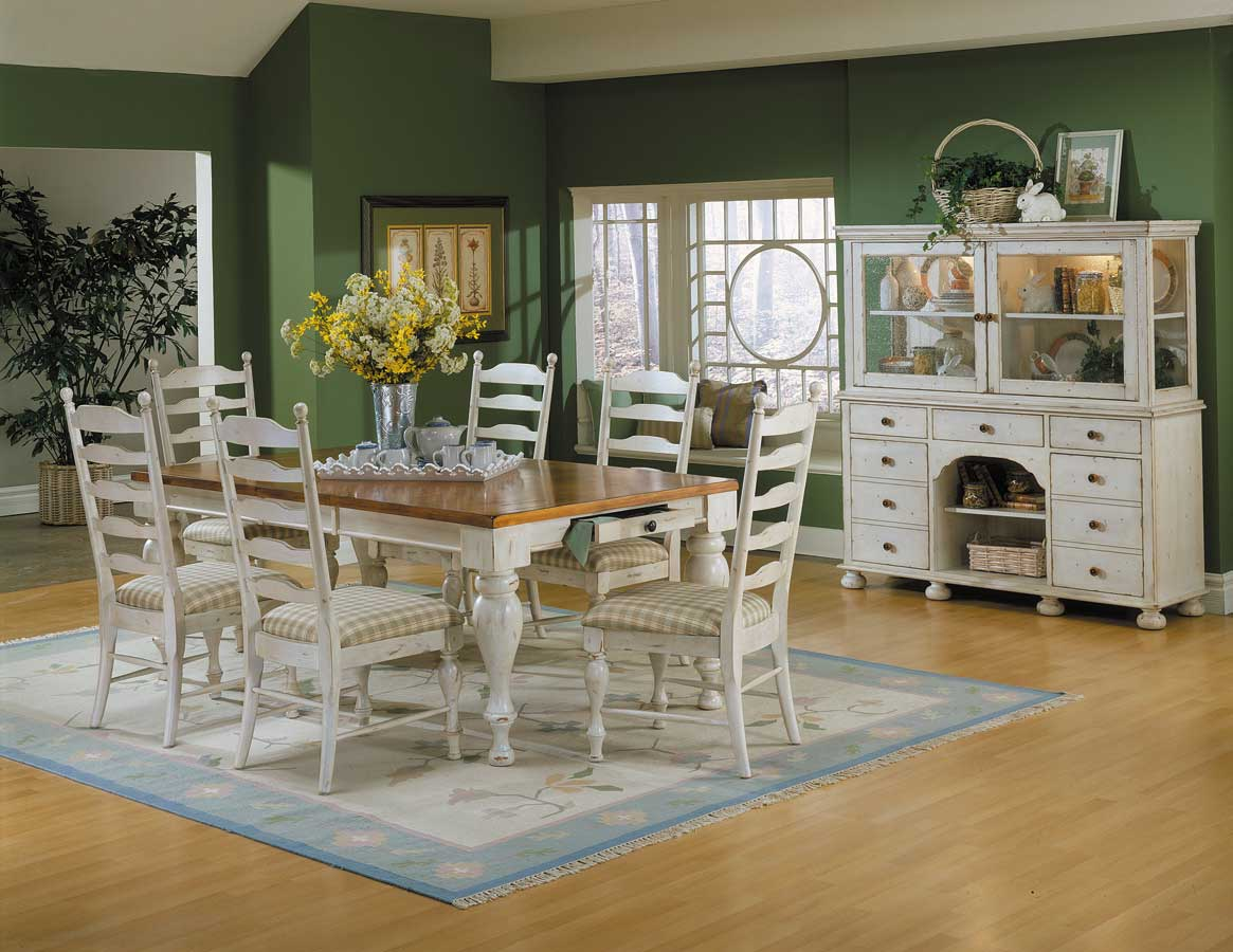 Homelegance Casual Moments Dining Collection Antique White