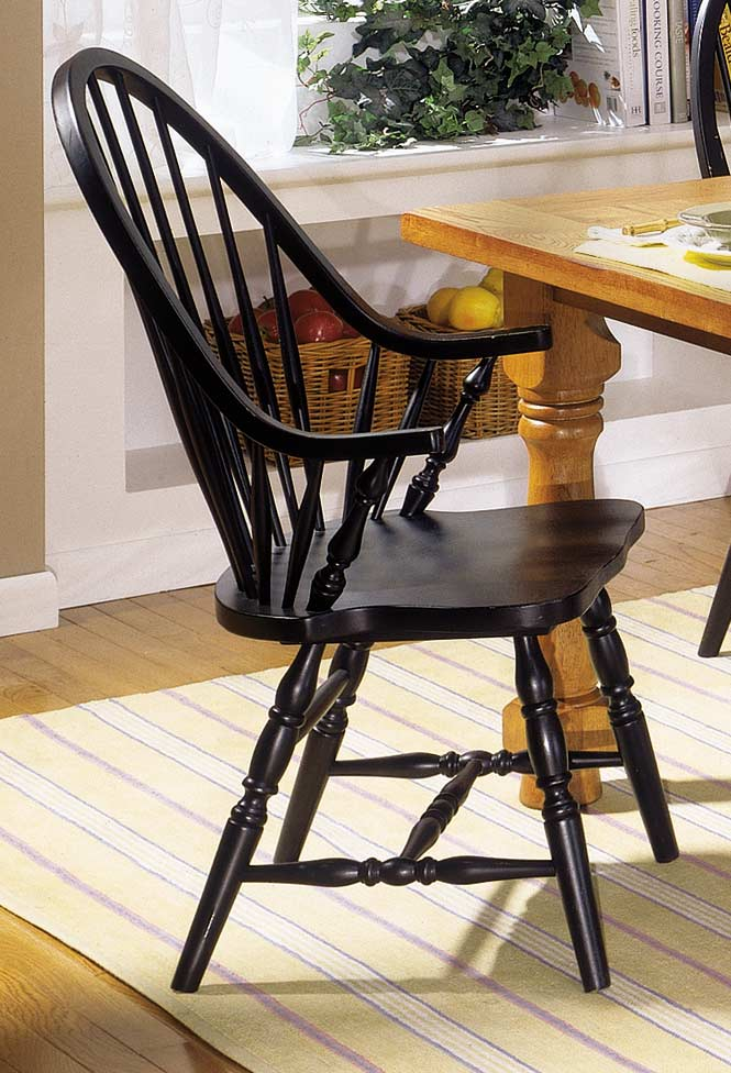 Homelegance American Dreamer Bow-Back Arm Chair