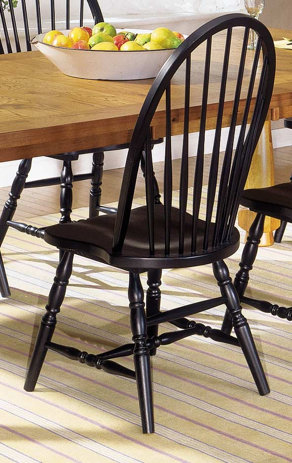 Homelegance American Dreamer Bow-Back Side Chair