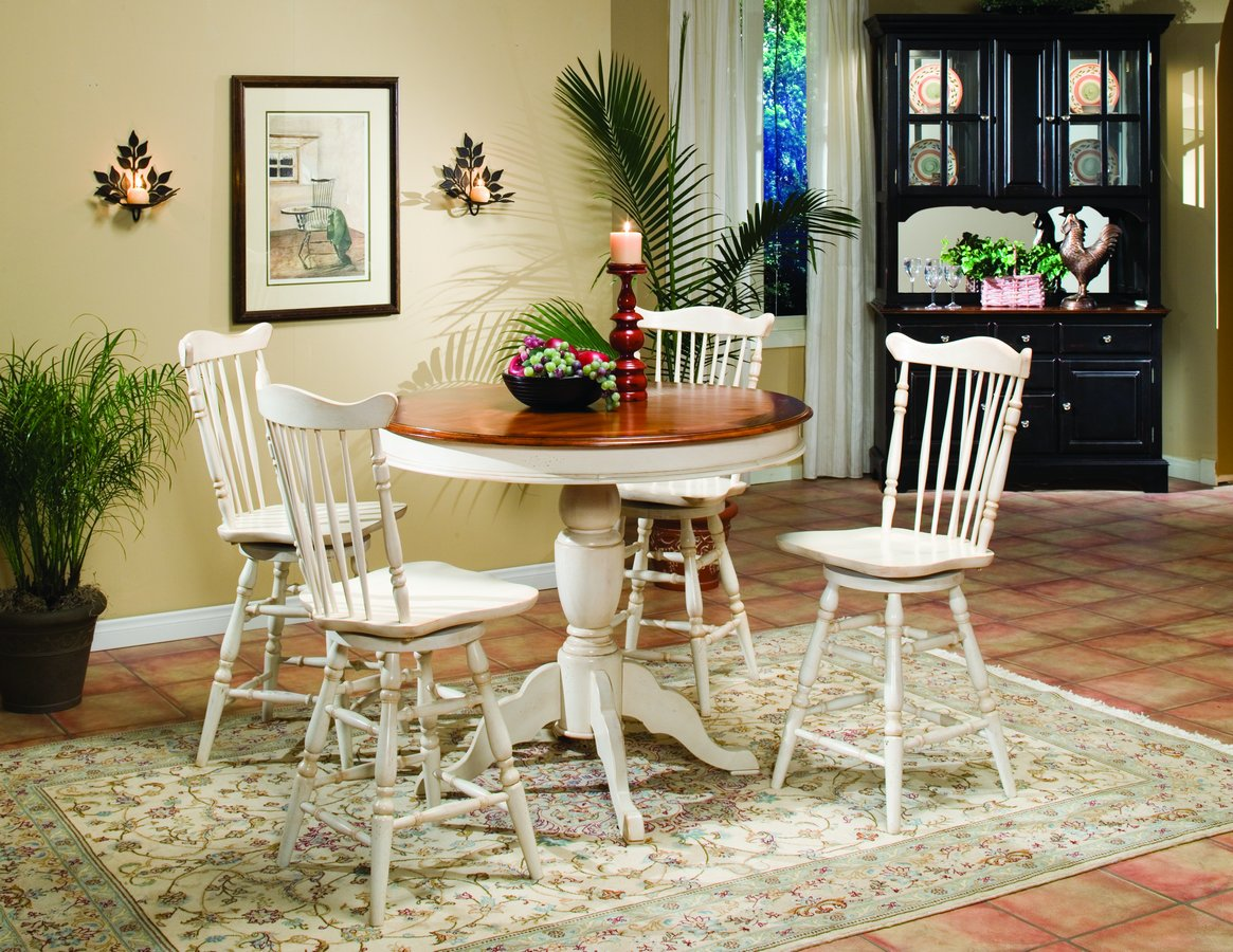 Homelegance Winnie Pub Dining Collection White