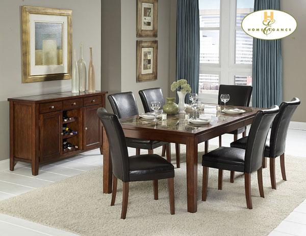 Homelegance Pennywood Dining Collection