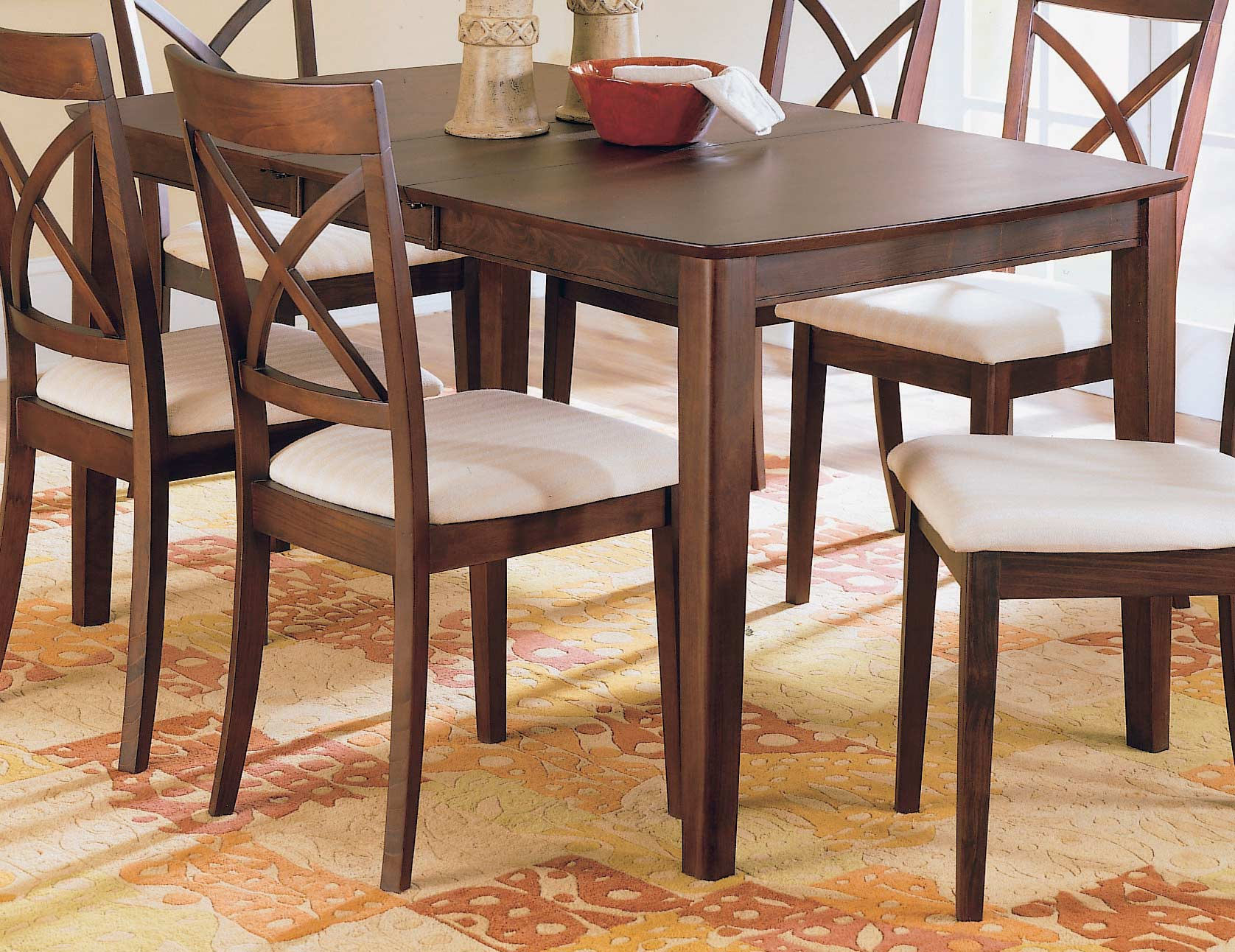 Homelegance Vermont Dining Table With Butterfly Leaf