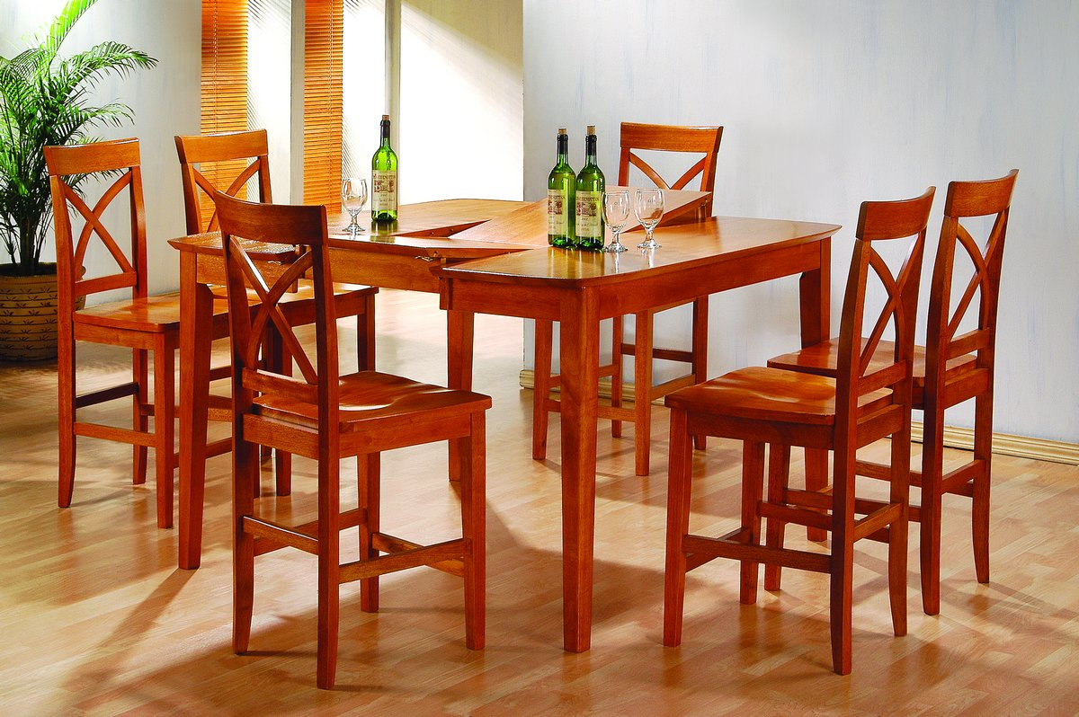 Homelegance Vermont Pub Dining Collection Oak