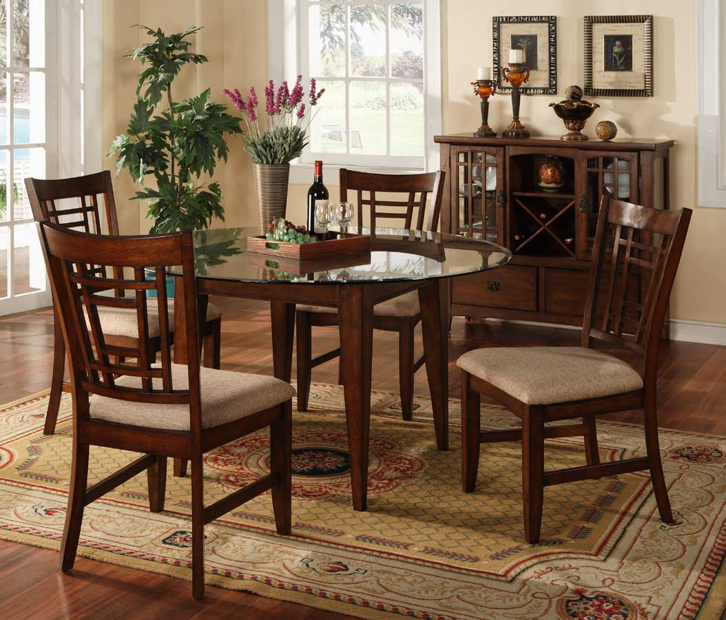 Buy homelegance sophie round dining collection online directly for Casual dining room ideas round table