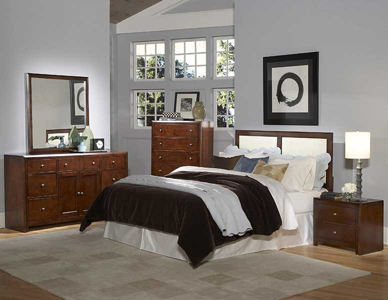 Homelegance Copley White Bi-Cast Bedroom Collection