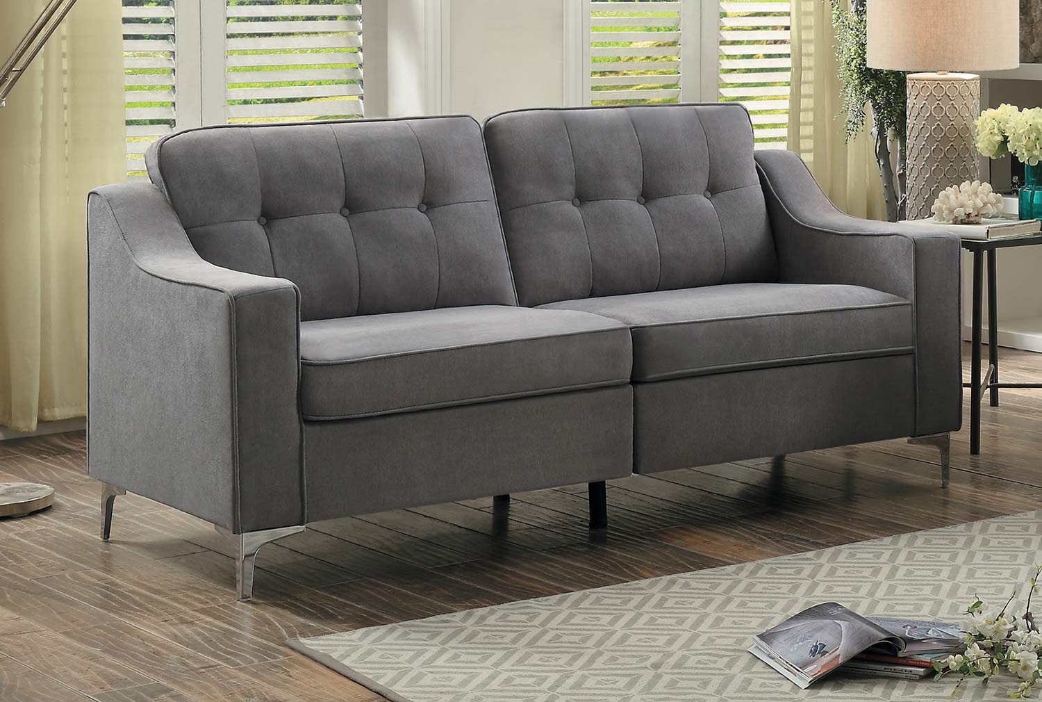 Homelegance Murana Sofa - Gray