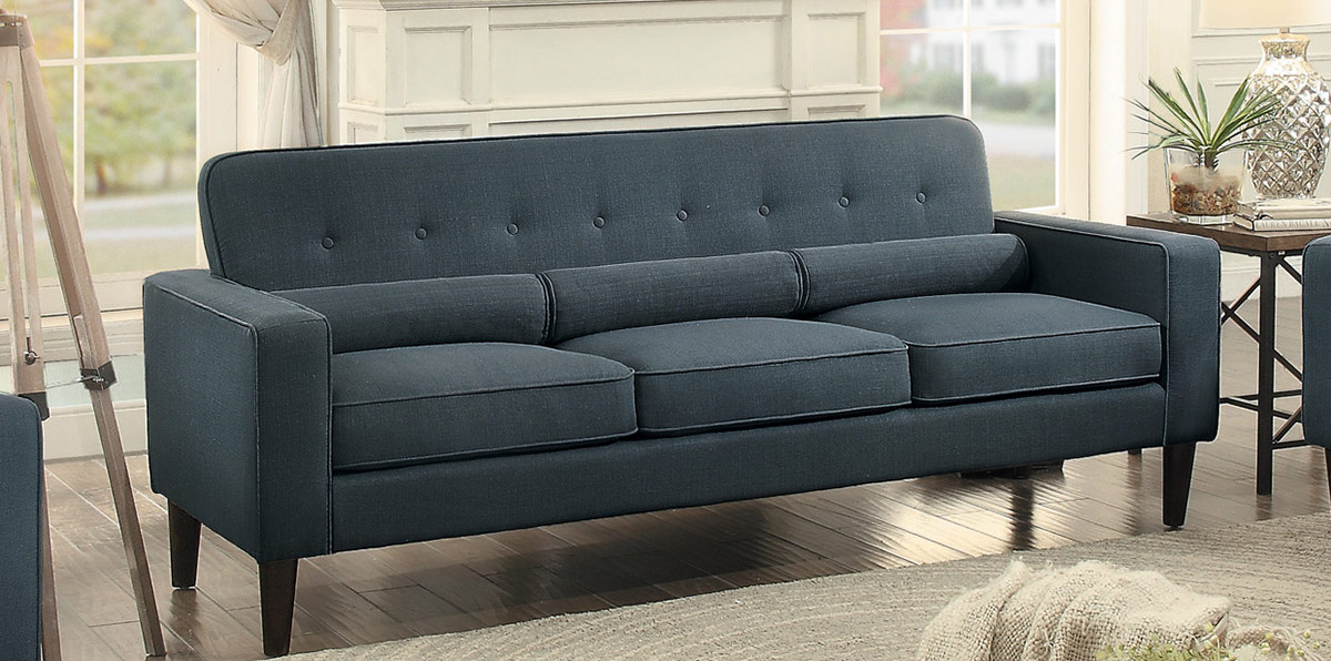 Homelegance Corso Sofa - Dark Gray