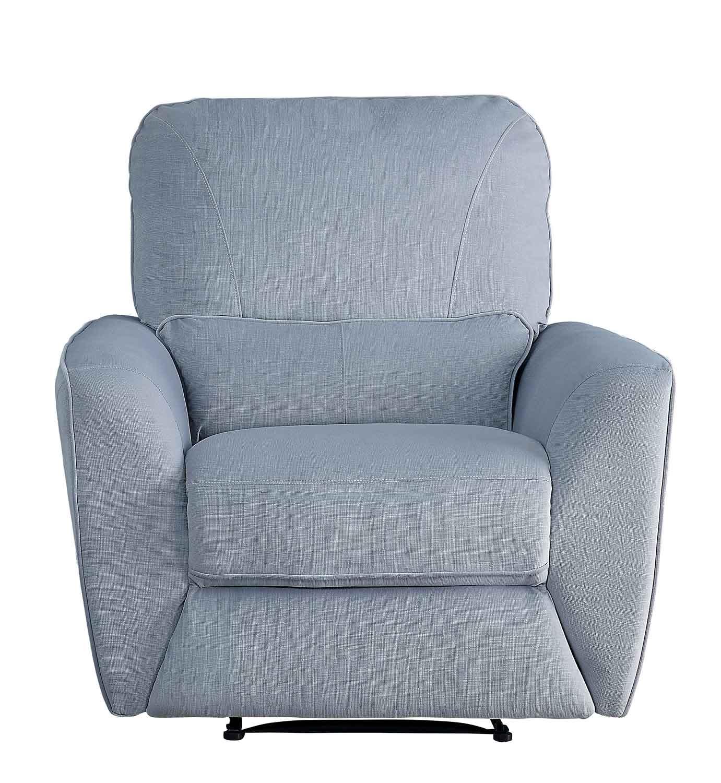 Homelegance Dowling Reclining Chair - Light Gray